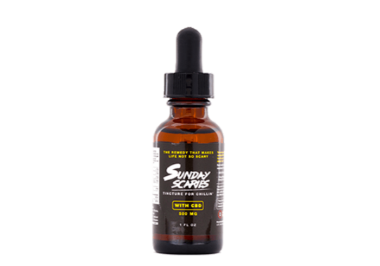 Sunday Scaries CBD Oil with Vitamins 500
