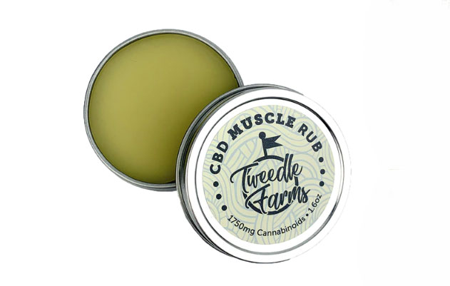 Tweedle Farms CBD Muscle Rub 1750