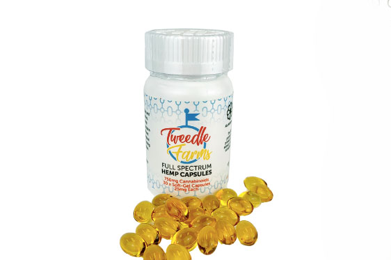Tweedle Farms Capsules 750