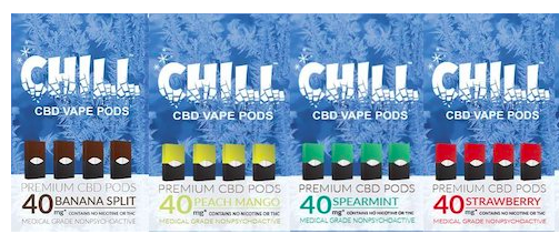 Chill CBD Juul Compatible Pods