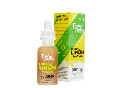 Funky Farms Lemon Limón Tincture