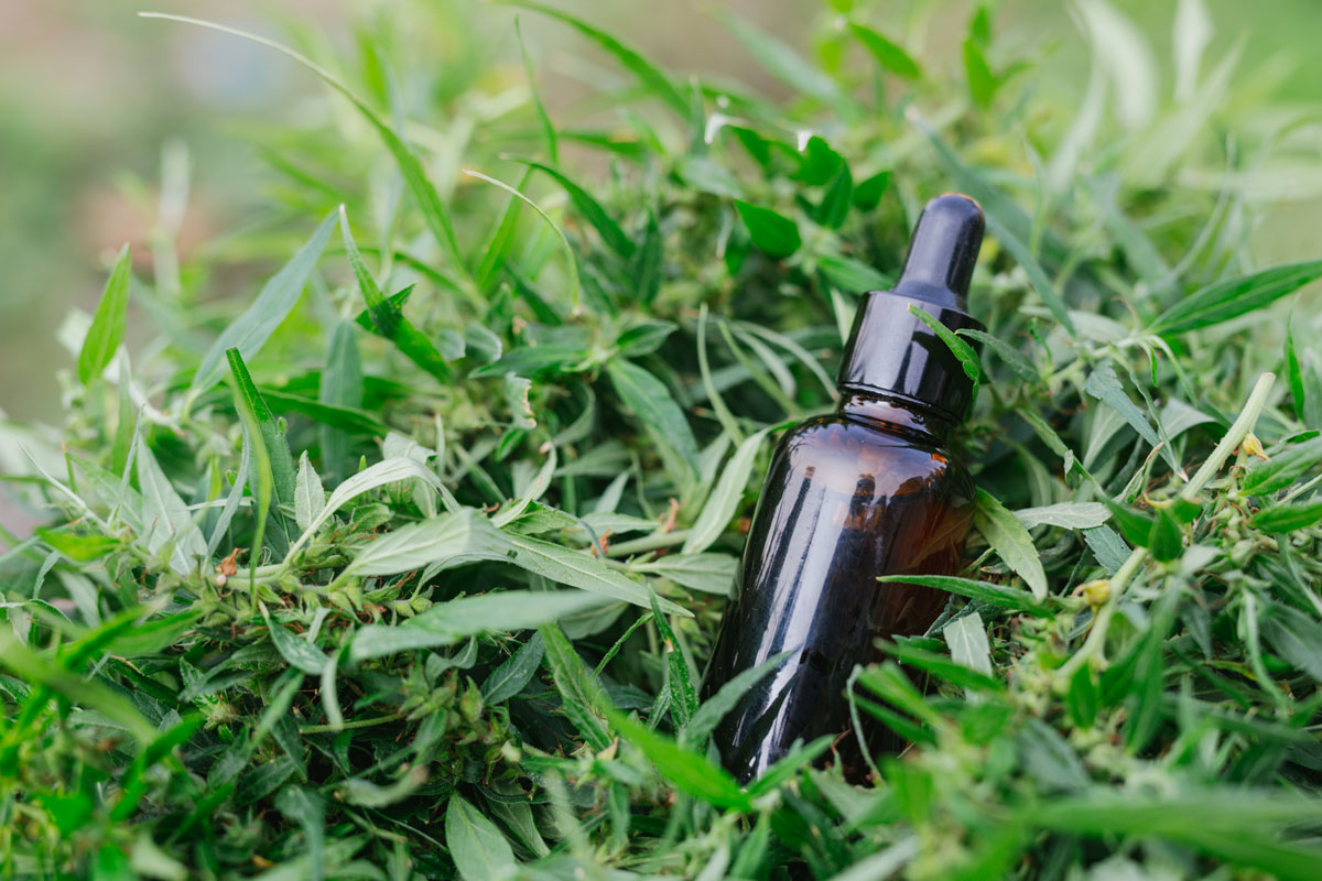bottle cbd oil
