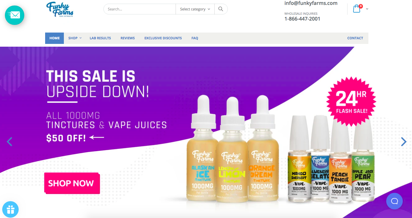 main page Funky Farms