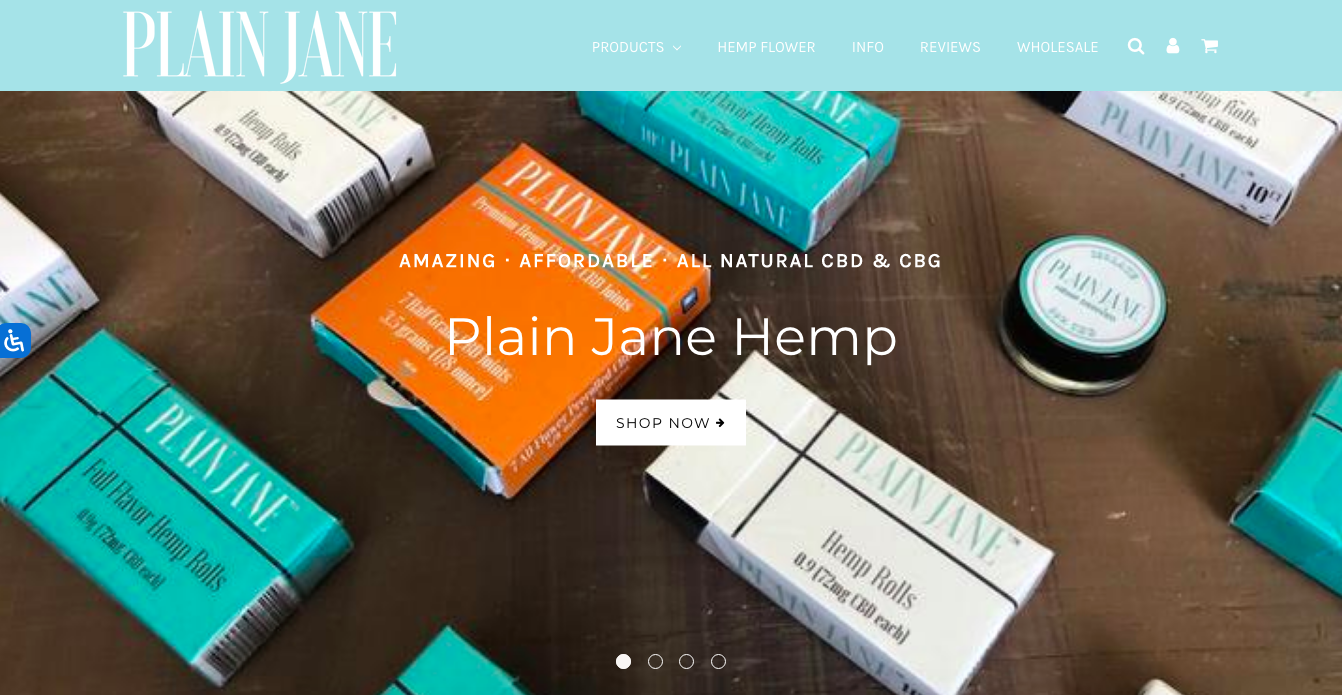 main page Plain Jane