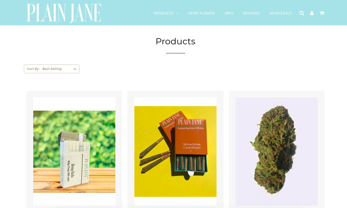 products Plain Jane